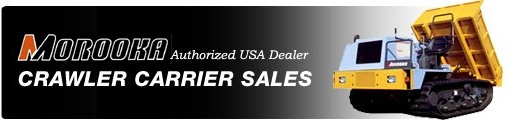Morooka USA Authorized Dealer, Crawler Carrier Sales